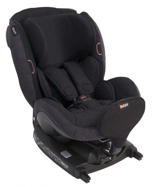 Fotelik samochodowy 0-18 kg Besafe iZi Kid X2 i-Size SIP+ kolor Czarny Melange