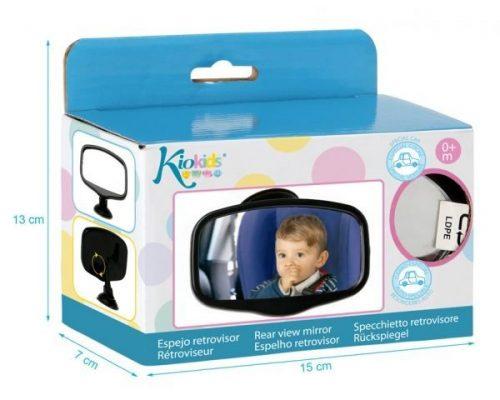 Lusterko do obserwacji dzieci jadących przodem lub tyłem do kierunku jazdy