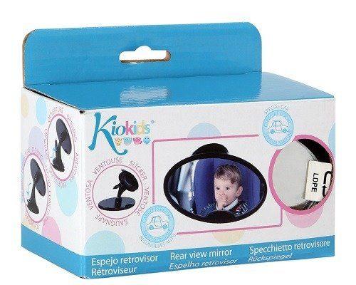 Lusterko do obserwacji dziecka w samochodzie do jazdy tyłem do kierunku jazdy Kiokids