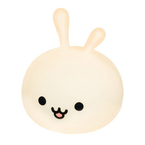 Nocna lampka do pokoju dzieciecego Bunny midi Innogio zmienia kolory