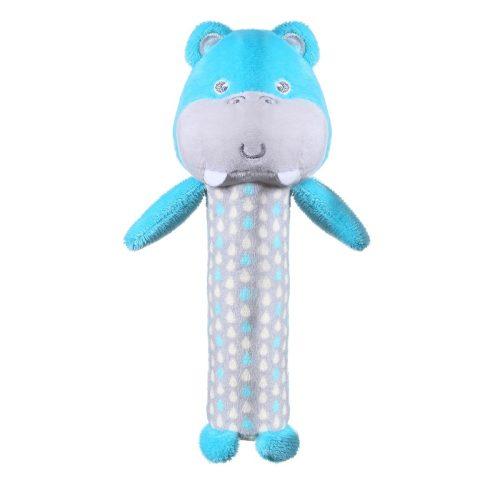 Piszczek grzechorka pluszowa dla niemowląt Hippo Marcel Babyono
