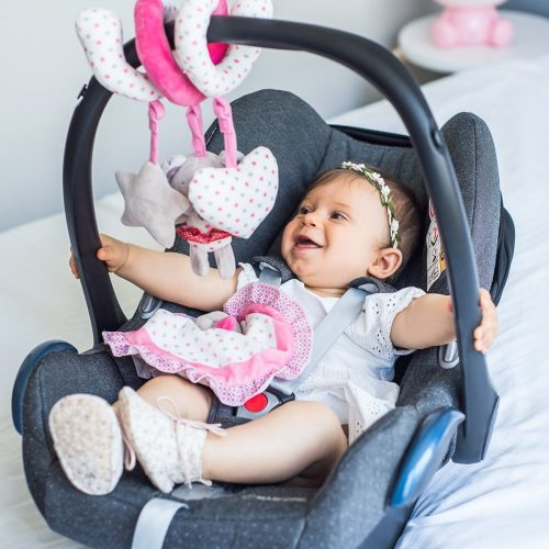Spiralka interaktywna zabawka do wózka i łóżeczka Bear Suzie Babyono