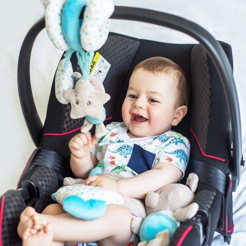 Spiralka zabawka interaktywna do wózków i łóżeczek dziecięcych Bear Tony Babyono