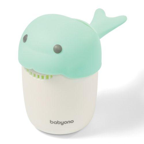 Kubek do mycia głowy dziecia, miętowy Whale Babyono
