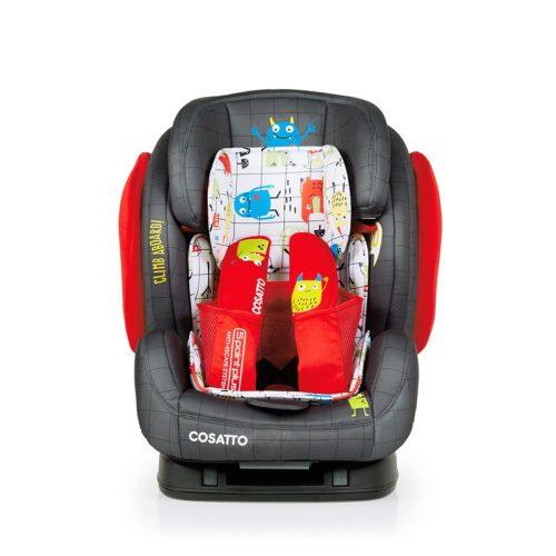 Fotelik samochodowy Cosatto Hug Isofix 9-36 kg kolor Monster Mob