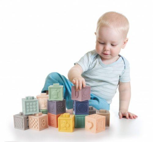 Klocki sensoryczne miękkie Canpol Babies 12 szt