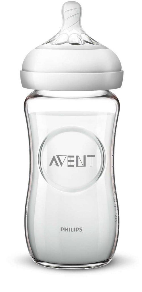 Szklana butelka do karmienia Avent Natural 330ml