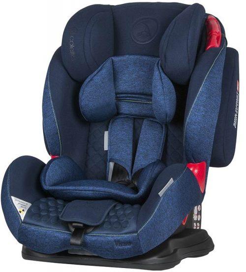 Fotelik samochodowy Coletto Vivaro 9-36 kg kolor Blue