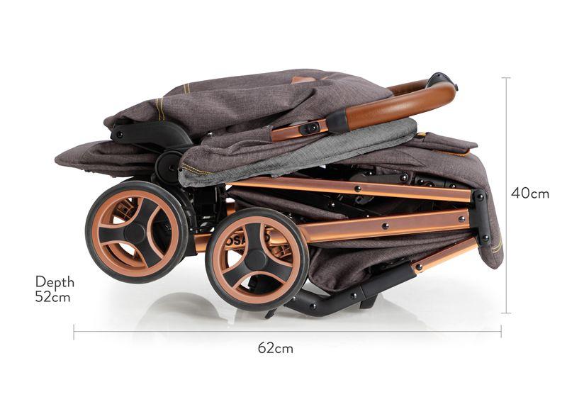 Wózek spacerowy Cosatto Woosh przeznaczony aż do 25 kg! Kolor Mister Fox