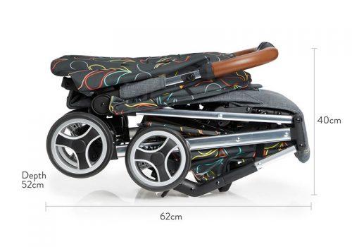 Wózek spacerowy Cosatto Woosh XL przeznaczony aż do 25 kg! Kolor Nordik
