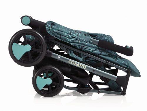 Wózek spacerowy Cosatto Woosh z pałąkiem kolor Fjord