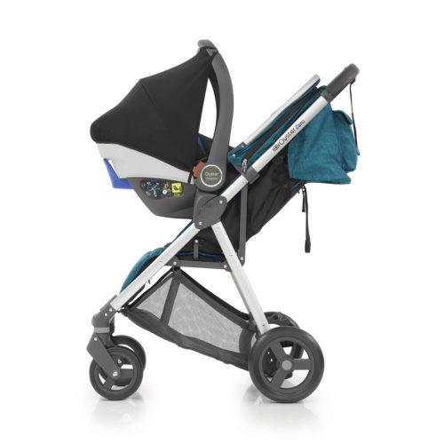Wózek spacerowy Oyster Zero kolor Peper - Ciemny Szary