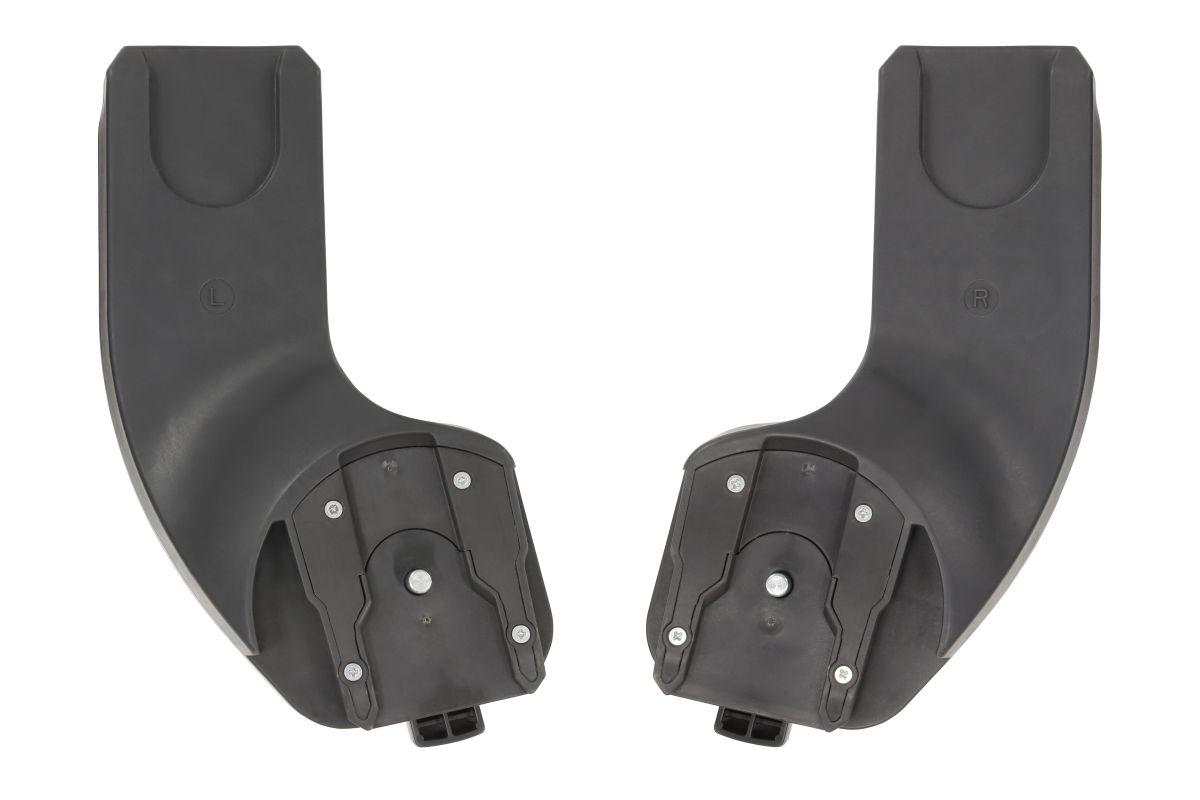 Adaptery umożliwiające wpięcie fotelika 0-13 kg na stelaż wózka Oyster 3
