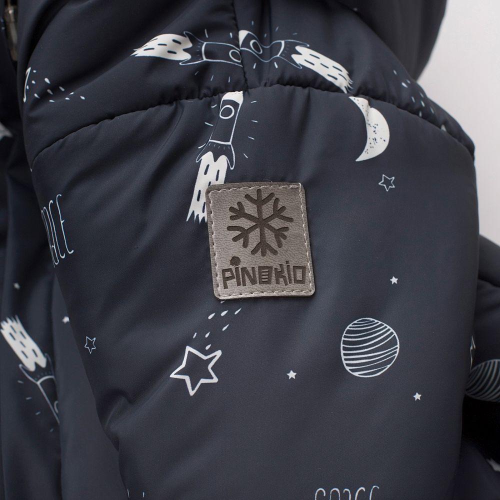 Kombinezon dla niemowląt ocieplany zimowy Winter 62