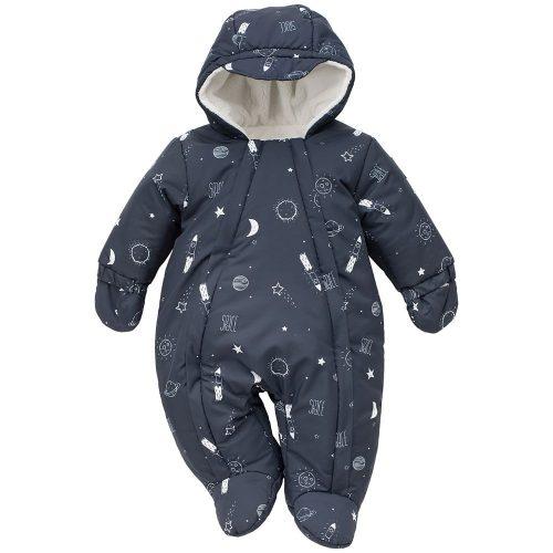 Kombinezon dla niemowląt ocieplany zimowy Winter 80