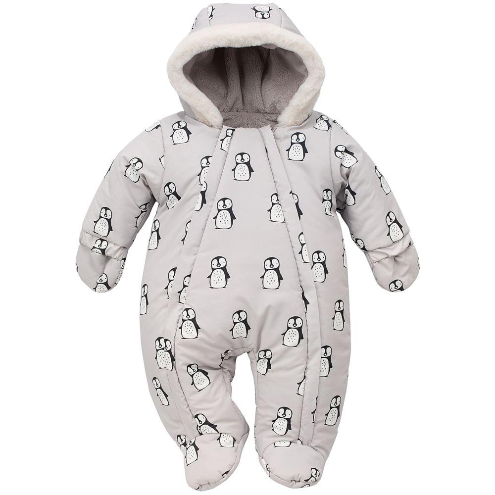 Ocieplany kombinezon zimowy dla niemowląt winter 62
