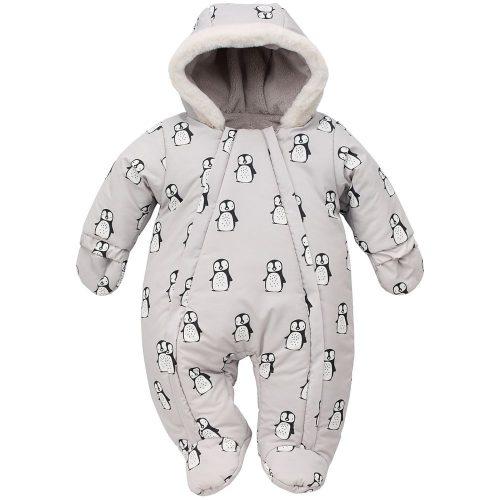 Ocieplany kombinezon zimowy dla niemowląt winter 68