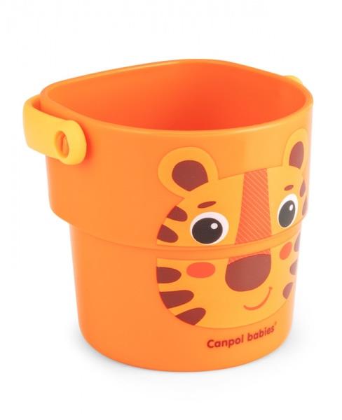 Kubeczki do kąpieli zabawka do kąpieli wanny Hello Little Canpol Babies 3 szt