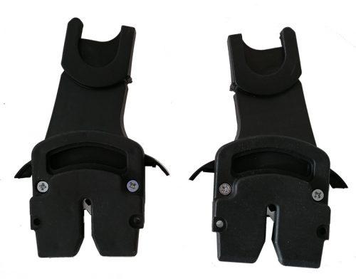 Adapter do montażu fotelików samochodowych na wózkach dziecięcych