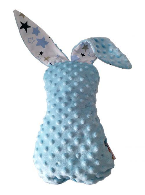 Królik przytulanka maskotka z wielkimi uszami 57 cm Amillo niebieski