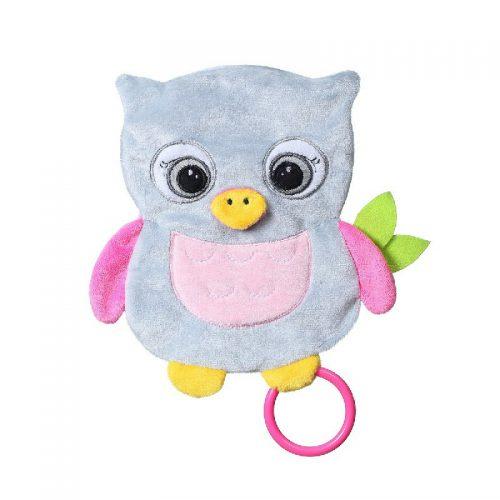 Przytulanka szeleścik Owl Celeste Babyono