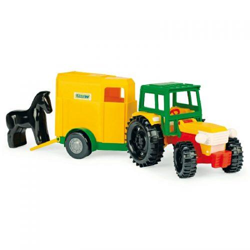 Traktor z przyczepą dla konia Wader 35001