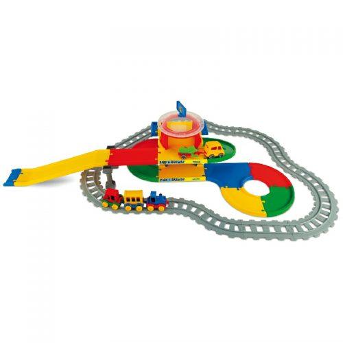 Kolejka tory pociągi elementy 6,4 mb Wader 51520