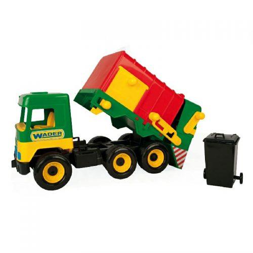 Duża śmieciarka samochód Wader 32380