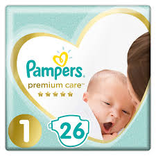 Pieluszki pampers premium care 1 2-5 kg