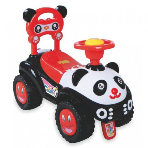 Pchacz jeżdzik dla dziecka Panda czarna