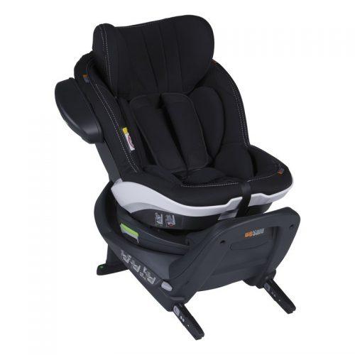 Fotelik samochodowy BeSafe iZi Twist i-Size 0-18 kg RWF, funkcja obrotu bokiem do drzwi, kolor Samochodowa Harmonia