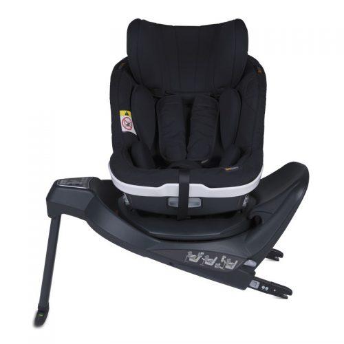 Fotelik samochodowy BeSafe iZi Twist i-Size 0-18 kg RWF, funkcja obrotu bokiem do drzwi, kolor Czarny Cab
