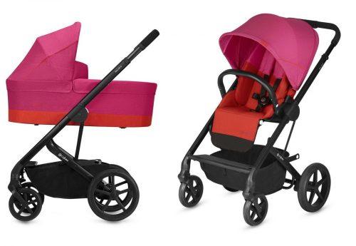 Wózek głęboko spacerowy Cybex Balios S zestaw 2w1 Fancy Pink