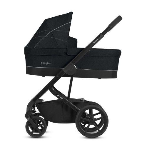 Wózek głęboko spacerowy Cybex Balios S zestaw 2w1 Lavastone Black