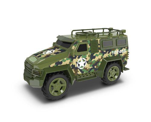 3 pojazdy militarne tir Hummer helikopter flota miejska midi Dumel Discovery