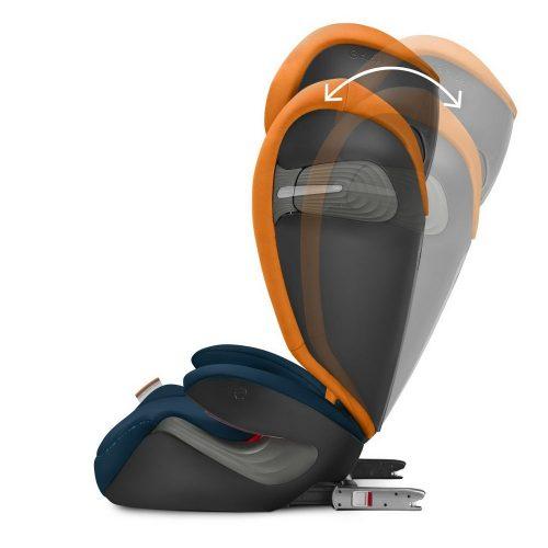 Fotelik samochodowy Cybex Solution S-fix 15-36 kg, Deep Black