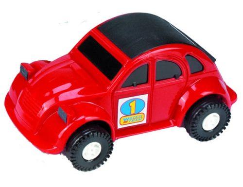 Wader Color Cars samochód auto 37082 czerwone 22cm
