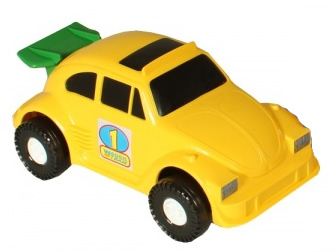 Wader Color Cars samochód auto 37082 żółte 22cm