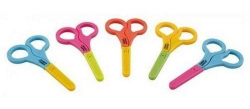 Bezpieczne nożyczki z osłonką do obcinania dziecięcych paznokci Canpol Babies Niebieski