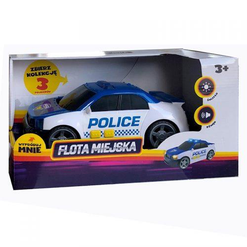 Samochód policja flota miejska Midi DUmel DIscovery