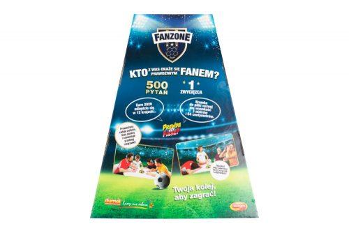 Gra z wiedzy o piłce nożnej Fanzone Dumel Discovery DD62178