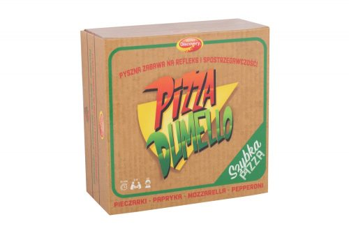 Gra na reflex i spostrzegawczość Pizza Dumel DD90412