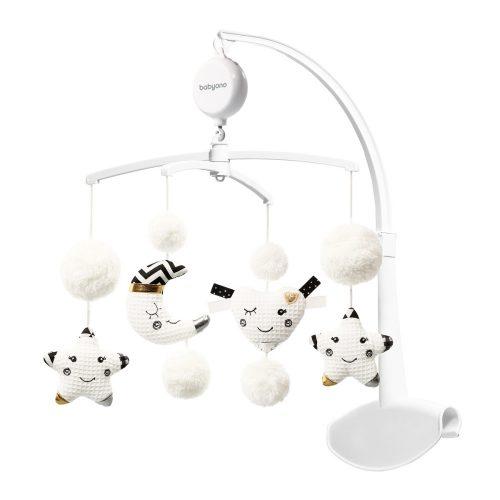 Karuzela nad łóżeczko z elektroniczną pozytywką Milke Way Babyono