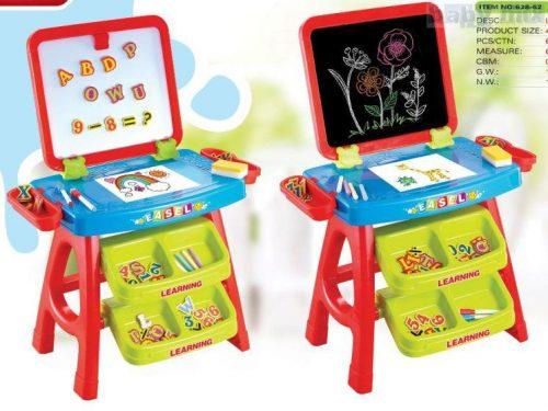 Magnetyczna tablica dla dziecka 43x39x74 cm