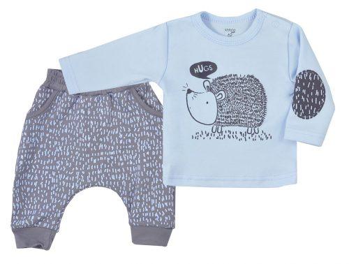 Bluzka + spodenki Koala Baby More Hugs jeżyk  62  Niebieski