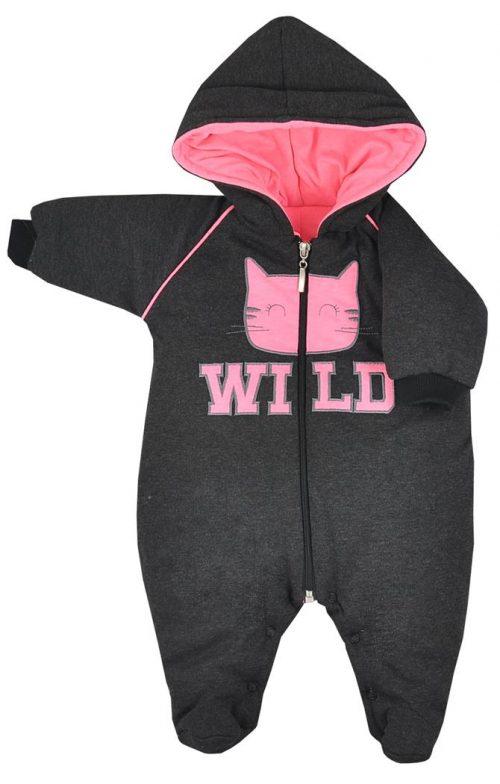 Pajac ocieplany kombinezon dla niemowląt Koala Baby  68  Różowy