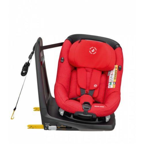 Fotelik samochodowy Maxi Cosi AxissFix i-Size z funkcją obrotu 360 stopni, kolor Nomad Red