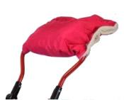 Mufka na rączkę sanek lub wózków k kożuszkiem