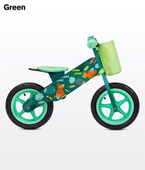 Rowerek do nauki - biegowy Zap 2018 Green zielony