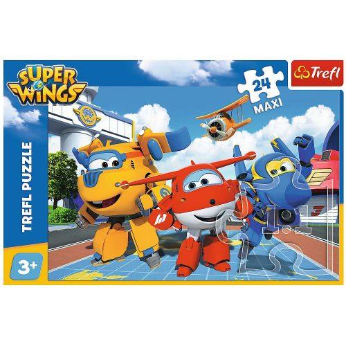 Trefl Puzzle maxi 24el. Super Wings: Wesołe samoloty